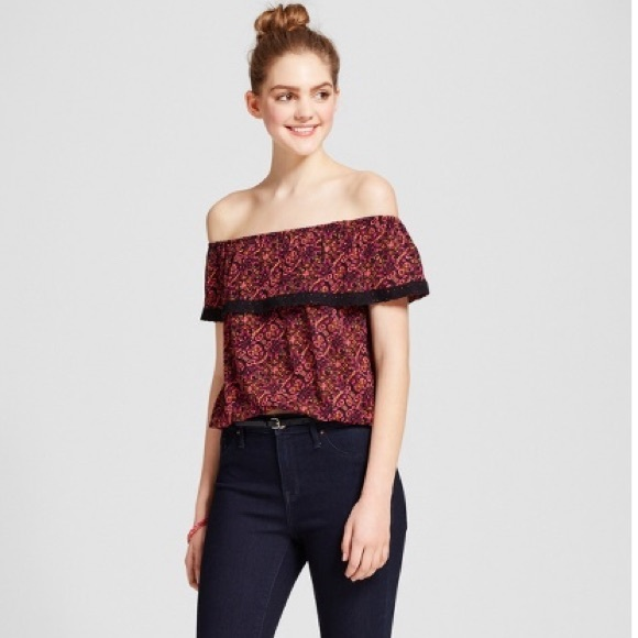 Mossimo Supply Co. Tops - [Mossimo] Off Shoulder Top